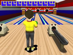 Bowling Blast - just try and knock all the pins down!  Go for a 300!